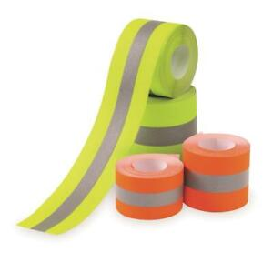 Flame Resistant Sew On High Visibility Hi Vis Retro Reflective Fabric Tape