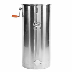 Two 2 Frame Stainless Steel Bee Honey Extractor Ss Honeycomb Drum bee v002c