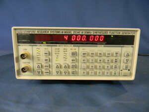 Stanford Research Ds345 Function Generator 30 Day Warranty