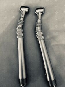 2 midwest Quiet Air fiber Optic wrench Type Handpieces