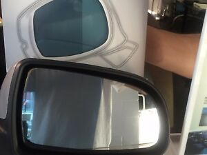 3 Anti glare Rearview Mirror Film Kit For Cars Reduces High Beam Glare 9pcs