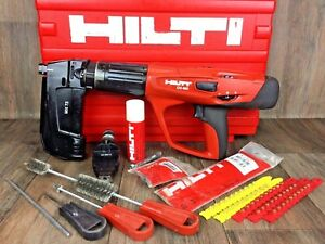 Hilti Dx 460 complete Kit Mx 72 F8 Powder Actuated Nail Gun nice tool Cal F10