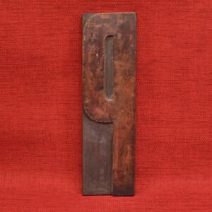11 5 8 By 3 3 8 Inches Large Letter P Wood Type Letterpress Printers Block