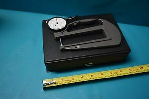 Used Mitutoyo Thickness Gage 0 1 2416f Dial Indicator