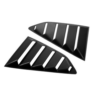 1pair N Styling Abs Window Louver Scoop Cover Fit For Chevrolet Camaro 2017 B5