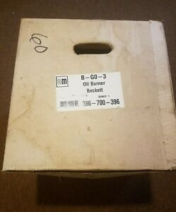 Go 3 Beckett Oil Burner For Wgo 3 wtgo 3 sgo 3 Boilers Weil Mclain P 386 700 396