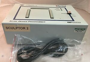 Black Microsemi Actel Silicon Sculptor Ii Programmer Made By Bp Microsystems 2