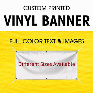 Custom Banner Vinyl Banner With True Solvent Ink Signs