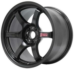 18 18x9 5 Et 12 Rays Gram Lights 57dr Black Wheels 5x4 5 Lancer Evolution Set