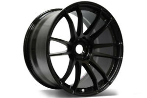 18 18x9 5 Et 22 Rays Gram Lights 57xtreme Black Wheels 5x4 5 Lancer Evolution