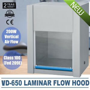 Vertical Ventilation Laminar Flow Hood Air Clean Bench Workstation Single sided