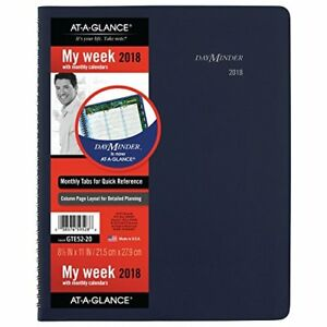 At a glance Dayminder Weekly Monthly Appointment Book Planner January 20