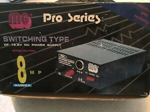 Mg Pro Series Switching Type 13 8v Dc Power Supply 8 Amp Model Ps8c