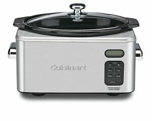 Cuisinart Psc 650 Stainless Steel 6 1 2 quart Programmable Slow Cooker