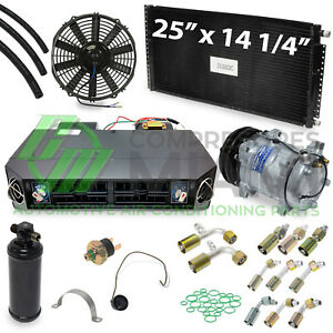 New A C Universal Under Dash Evaporator Complete Kit For Cars And Trucks