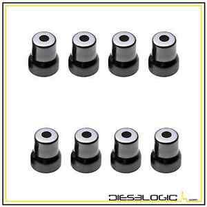 2003 2010 New 6 0l Injector Sleeve Cup Set Of 8 For Genuine Ford Motocraft