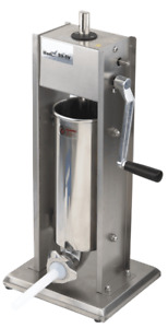 Wyzworks Sausage Stuffer Stainless Steel Commercial Grade 4 Tube 5l 11lb 2 Speed