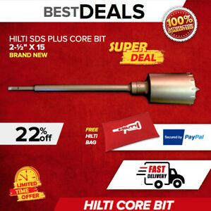 Hilti Te core Bit 2 1 2 brand New Free Hilti Bag Fast Shipping