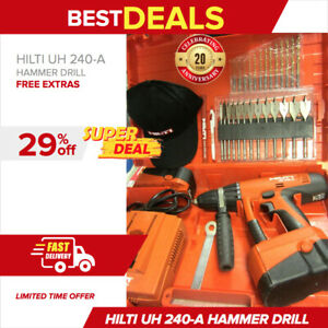 Hilti Uh 240 a Cordless Hammer Drill 24v In Excellent Condition Fast Shipping