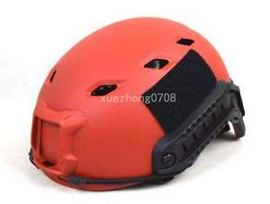 NEW US TACTICAL LIGHTWEIGHT OPS-CORE FAST BASE JUMP MILITARY BIKE HELMET RED