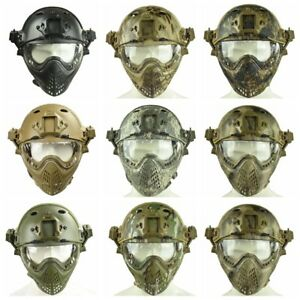 multi-function PJ Type Airsoft CS Military Tactical Helmet with Mask and Goggle