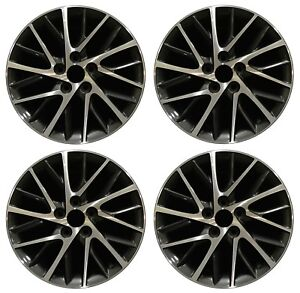 17 Lexus Es350 2016 2017 2018 Factory Oem Rim Wheel 74332 Charcoal Full Set