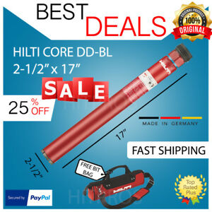 Hilti Core Bit Dd bl 2 1 2 17 U4 Brand New Strong Fast Shipping
