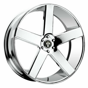 Dub Baller S115 Rim 30x10 5x120 Offset 13 Chrome Quantity Of 1