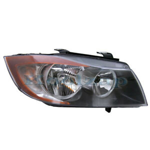 Tyc 06 08 3 Series 4 Dr Headlight Headlamp Front Head Light Right Passenger Side