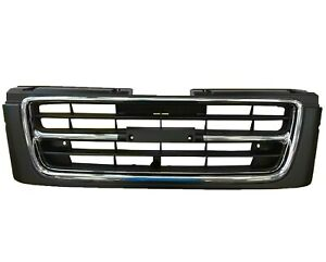 Grille Isuzu Trooper Chrome black 1998 2000 New Iz1200132