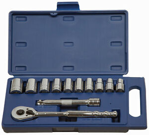 Williams 50669 12pc 1 2 Dr 12mm 24mm Shallow Supertorquesockets Dr Tools Set