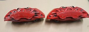 2015 2017 Ford Mustang Gt 5 0 Coyote Front Brakes Calipers 14 Inch