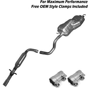 2003 2005 Vw Beetle 2 0l Bgd Bdc Muffler Resonator Exhaust System Kit