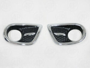 Spotlight Cap Cover Trim 1 Pair Fit For Toyota Toyota Sw4 Fortuner 2004 2007