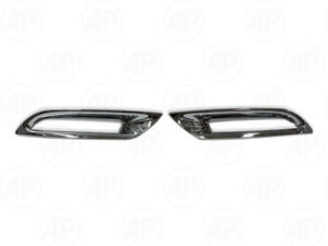 Chrome Rear Reflector Light 1pair Fit For Toyota Toyota Sw4 Fortuner 2012 2014