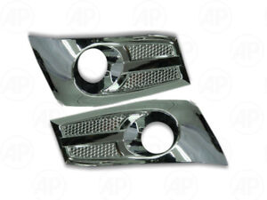 Spotlight Cap Cover Trim 1 Pair Fit Toyota Sw4 Fortuner 2012 2014