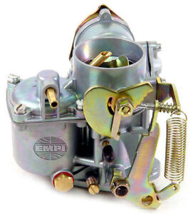 Vw Bug Bus Ghia Empi 30 Pict 1 Solex Stock Replacement Type Carburetor 12v Choke