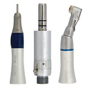 Dental Low Speed Straight Nose Cone Contra Angle Air Motor Handpiece Nsk Ex203c