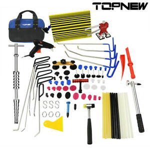 10pc Pdr Rods Paintless Dent Repair Tools Automotive Car Hail Hammer Removal Kit