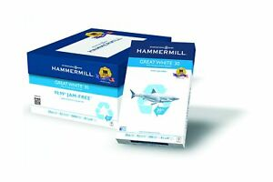 Hammermill Paper Great White 30 Recyled 20lb 8 5 X 14 Legal 92 Bright 5000 S