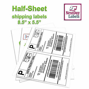 1000 Shipping Labels For Ebay Click N Ship Ups Paypal 500 Sheets Made In Us