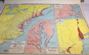 Nystrom Early Colonies Pull Down Map 1277a