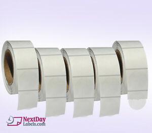 Clear Retail Package Seals 2 Inch Round Wafer Labels 500 Per Roll 5 Rolls