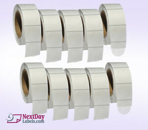 Clear Retail Package Seals 2 Inch Round Wafer Labels 500 Per Roll 10 Rolls
