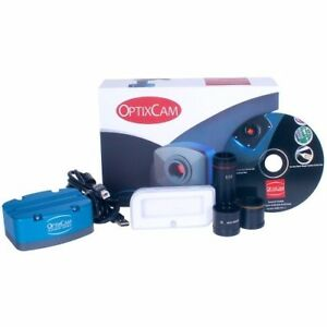 Optixcam Summit Ocs 1 3x 1 3mp Pc mac Compatible Digital Microscope Camera