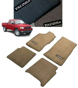 1996 2004 Tacoma Carpet Floor Mats oak extra Cab Genuine 00200 35964 16