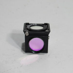 Nikon Texas Red Fluorescence Filter Reflector Cube For Diaphot Tmd