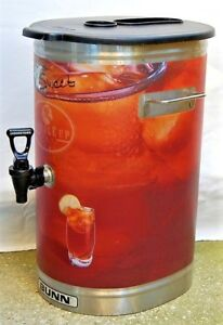 Bunn Commercial Restaurant Tdo 4 Iced Tea Dispenser 4 Gallon Used