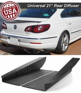 21 Gen 3 Rear Bumper Lip Downforce Apron Splitter Diffuser Canard For Mini