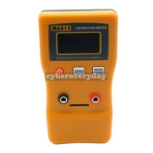 Lcd Digital Capacitor Capacitance Meter Auto Range Multimeter Checker